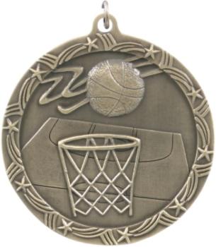 Basketball Shooting Stars Medal