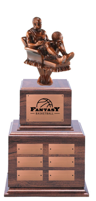 Fantasy Basketball Trophy - Trophies and Awards with Expert