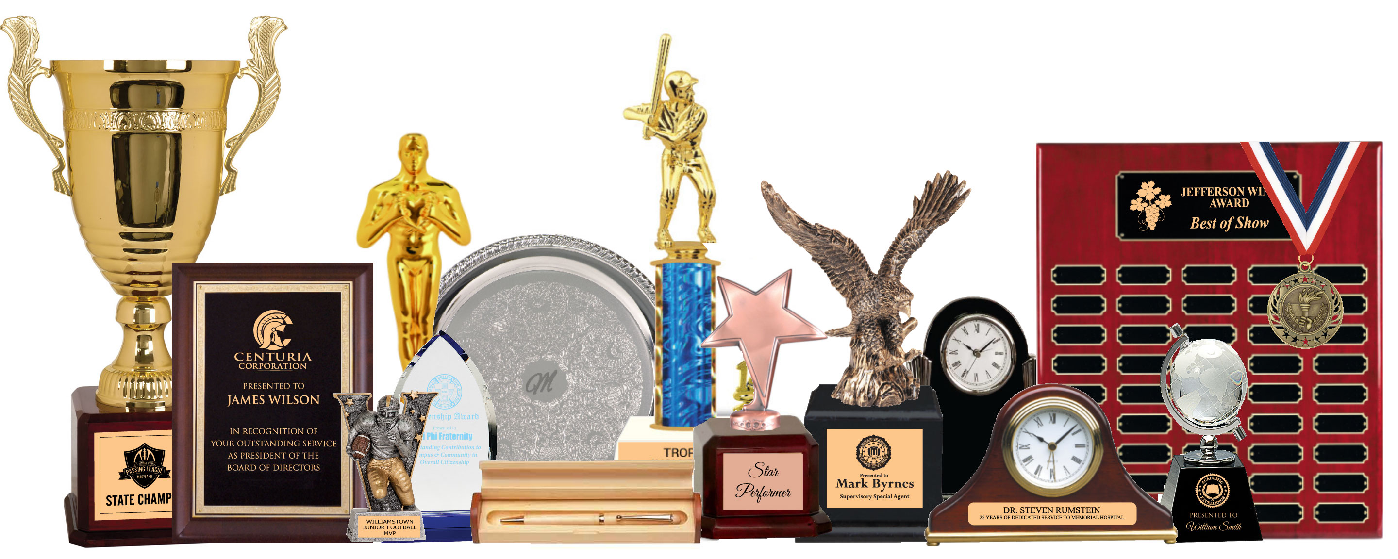 Celebrate Your Success with Specially Engraved Awards