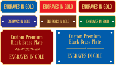 engraved brass plate engraved plaque engraved award